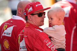 Kimi Raikkonen, Ferrari ve oğlu Robin