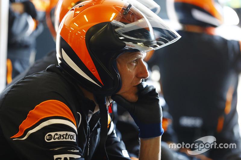 El equipo McLaren