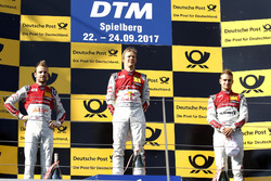 Podium: 1. Mattias Ekström, Audi Sport Team Abt Sportsline, Audi A5 DTM; 2. Jamie Green, Audi Sport Team Rosberg, Audi RS 5 DTM; 3. Nico Müller, Audi Sport Team Abt Sportsline, Audi RS 5 DTM