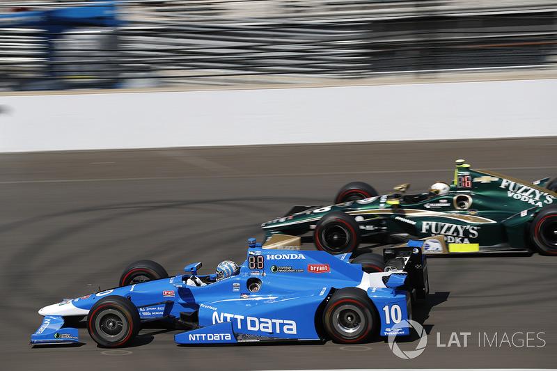 Тоні Канаан (Chip Ganassi Honda), Ед Карпентер (Ed Carpenter Chevrolet)