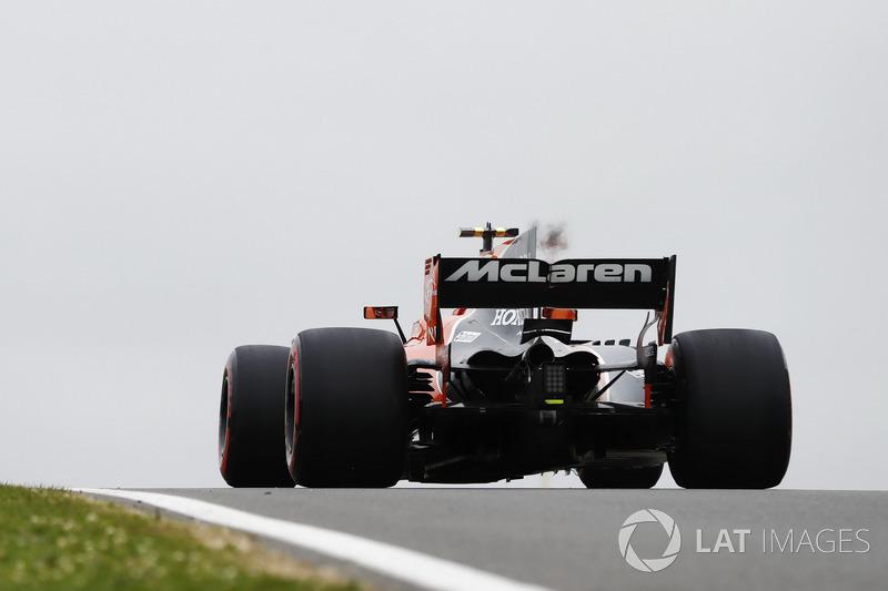 Stoffel Vandoorne, McLaren MCL32.
