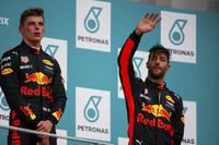 Podium: Race winner  Max Verstappen, Red Bull Racing, third place Daniel Ricciardo, Red Bull Racing