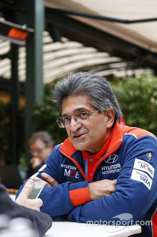Michel Nandan, Director de Hyundai Motorsport Team