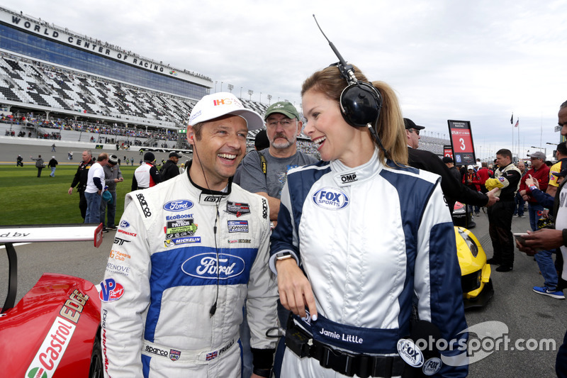 Andy Priaulx, Ford Performance Chip Ganassi Racing con Jamie Little, FOX Sports
