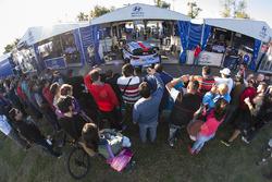 Расположение команды Hyundai Motorsport