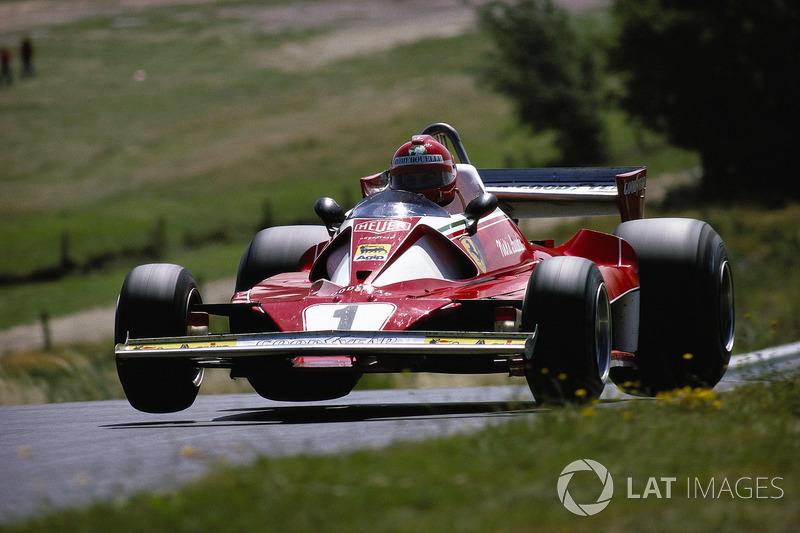 1976年ドイツGP:ニキ・ラウダ(フェラーリ312T2)
