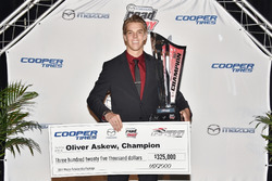USF2000 champion Oliver Askew