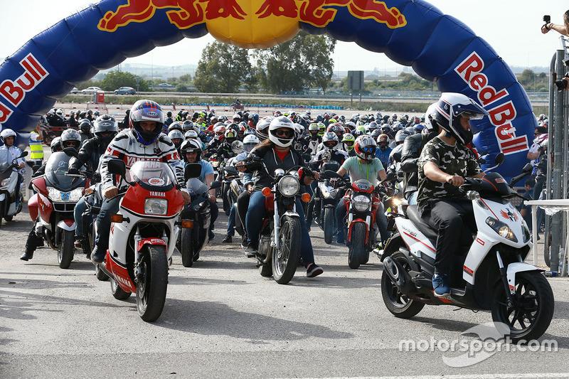 'Eagle Convoy' menyambut MotoGP Spanyol