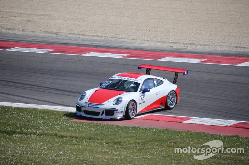 Testacoda per Daniele Cazzaniga, Ghinzani Arco Motorsport