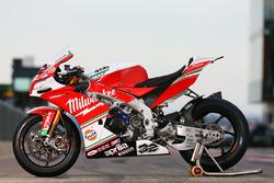 Bike of Julian Simon, Milwaukee Aprilia World Superbike Team
