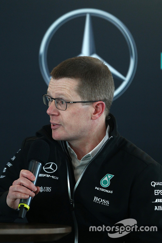 Andy Cowell, Managing Director, High Performance Powertrains, Mercedes AMG F1