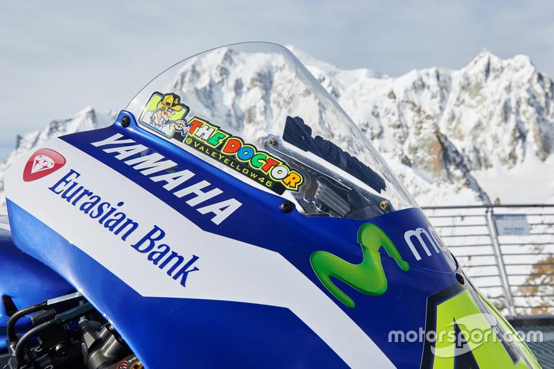 Detail, 2016 Yamaha YZR-M1 von Valentino Rossi, Yamaha Factory Racing