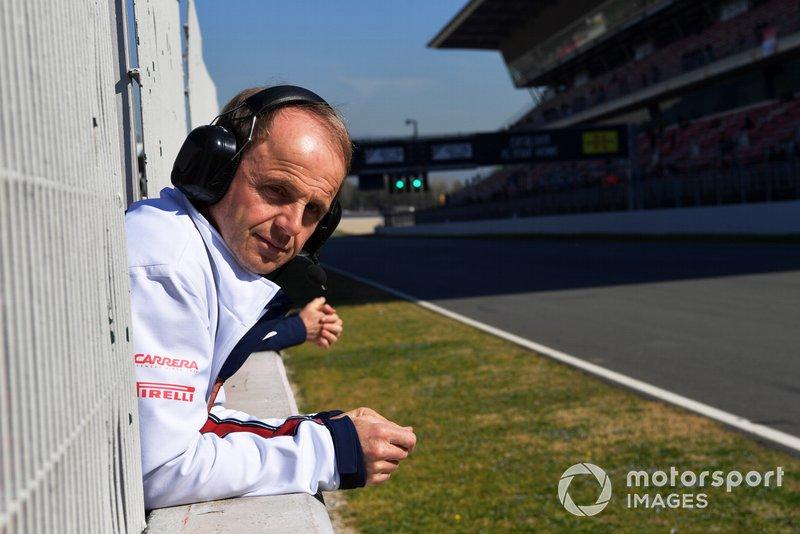 Josef Leberer, entrenador físico de Alfa Romeo Racing