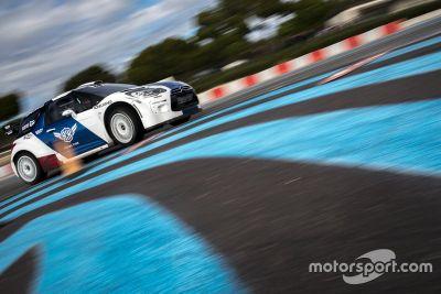 Тесты Валттери Боттаса с Citroen DS3 WRC