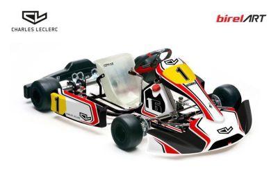 Annuncio del Kart Team di Charles Leclerc