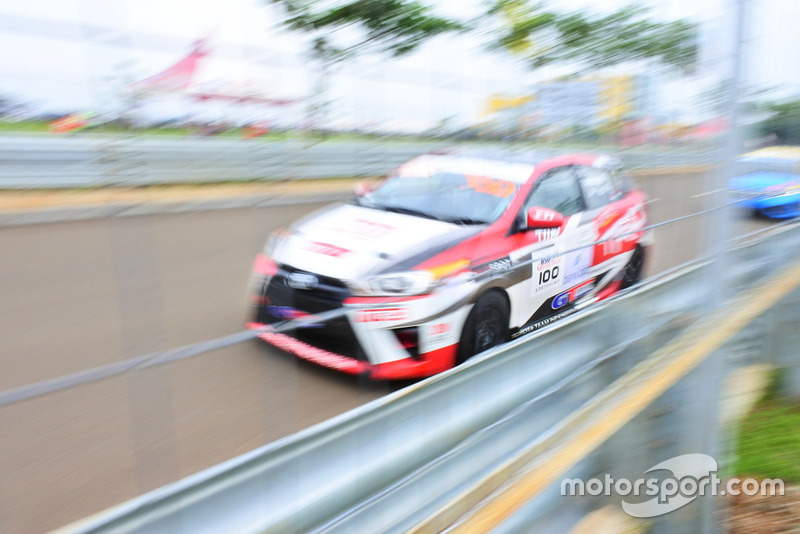 Demas Agil, Toyota Team Indonesia
