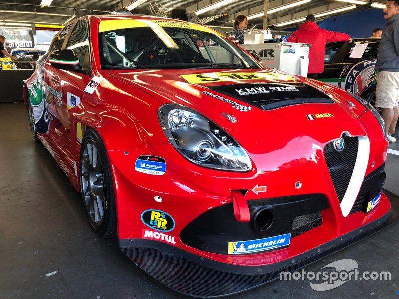 Alfa Romeo Giulietta TCR, KMW Motorsports with TMR Engineering