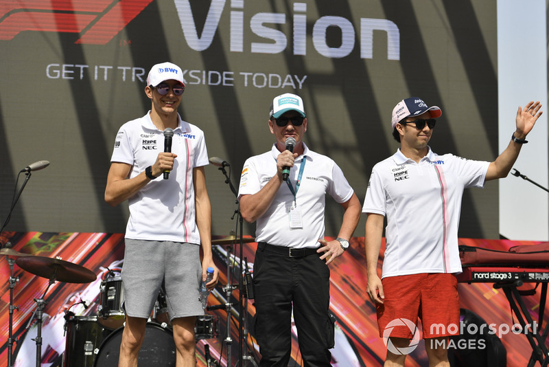 Естебан Окон, Серхіо Перес, Racing Point Force India