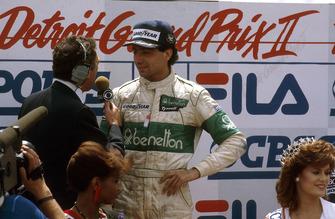 1. Michele Alboreto, Tyrrell