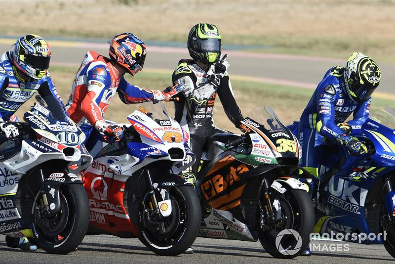 Джек Міллер, Pramac Racing, Кел Кратчлоу, Team LCR Honda, після аварії
