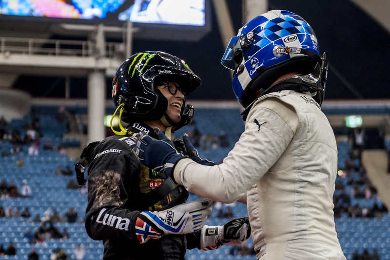 David Coulthard y Petter Solberg