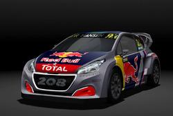 Timmy Hansen, Team Peugeot Hansen, Peugeot 208 WRX