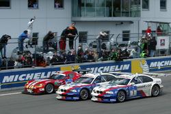 Ganadores de la carrera #2 BMW Team Schnitzer BMW M3 GTR: Boris Said, Duncan Huisman, Andy Priaulx, Pedro Lamy