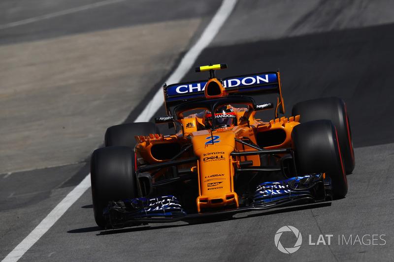 15. Стоффель Вандорн, McLaren MCL33