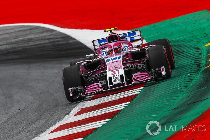 6. Esteban Ocon, Force India VJM11