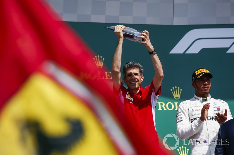 Claudio Albertini, Ferrari