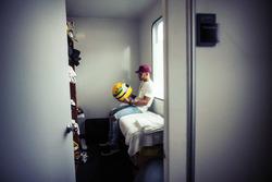 Lewis Hamilton, Mercedes-Benz with Ayrton Senna helmet