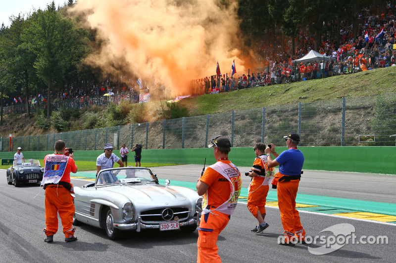 Felipe Massa, Williams nella sfilata dei piloti