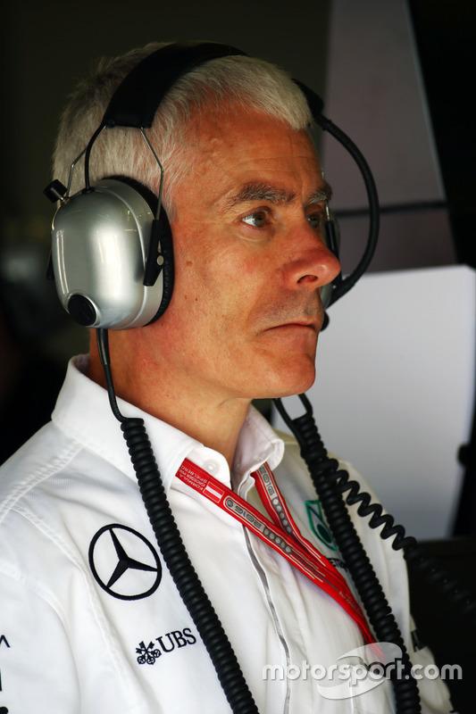 Geoff Willis, Mercedes AMG F1 Teknoliji Direktörü