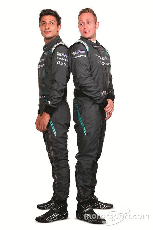 Mitch Evans, Jaguar Racing with Adam Carroll, Jaguar Racing
