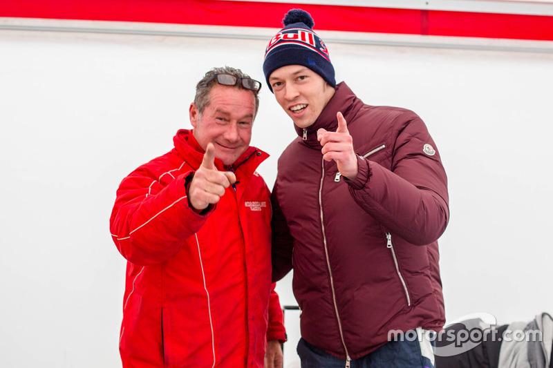 Даниил Квят, Red Bull Racing, и Анджело Морсикани
