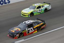 Brandon Jones, Richard Childress Racing Chevrolet, Justin Marks, Chip Ganassi Racing Chevrolet