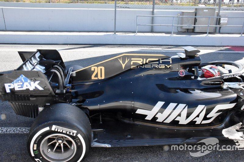Vue détaillée Haas F1