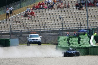 Nico Rosberg, Williams FW28 choca