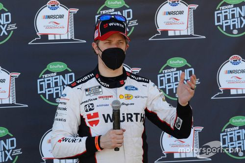 NASCAR-Test in Austin
