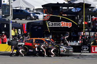 Christopher Bell, Joe Gibbs Racing, Toyota Camry GameStop Tomb Raider makes a pit stop, Sunoco