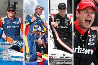 Les prétendants au titre IndyCar 2018