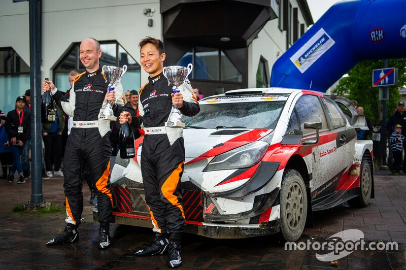 Announcement of Katsuta first WRC outings