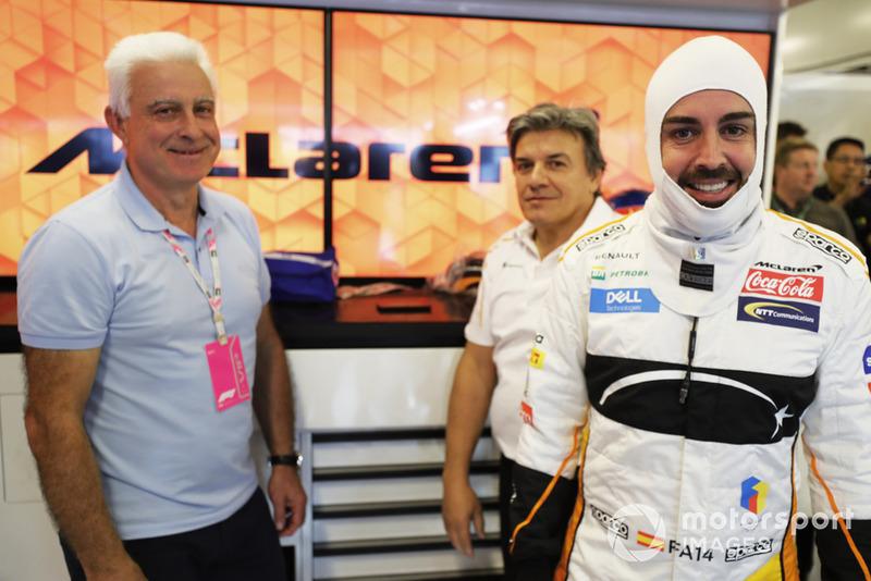 Хосе Луїс Алонсо, Фернандо Алонсо, McLaren