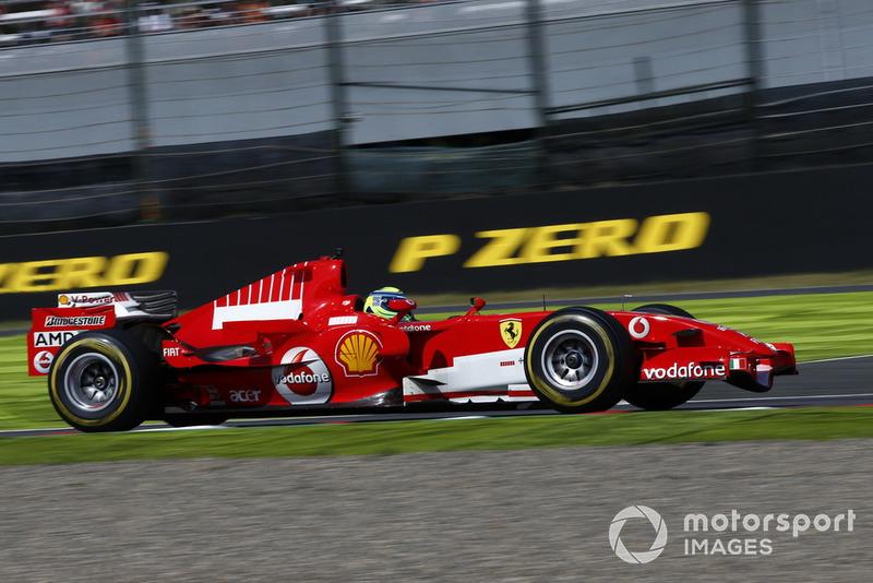 Феліпе Масса, Ferrari, під час демонстраційних заїздів у Сузуці