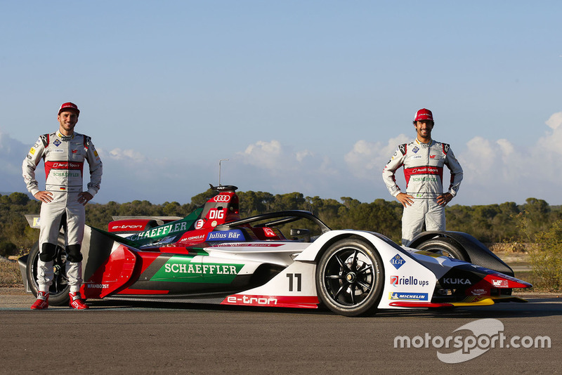 Даниэль Абт и Лукас ди Грасси, Audi Sport ABT Schaeffler, Audi e-tron FE05
