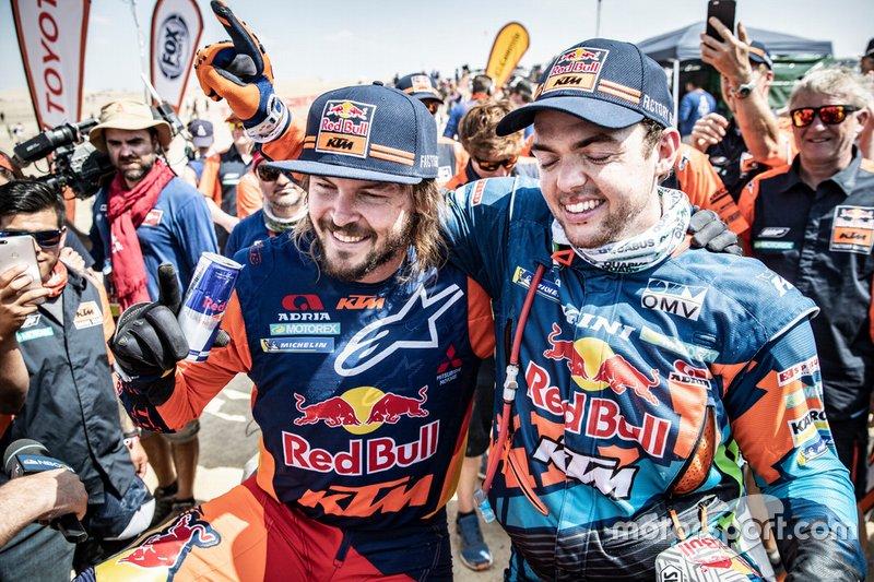Red Bull KTM Factory Team: Маттіас Валькнер, Тобі Прайс