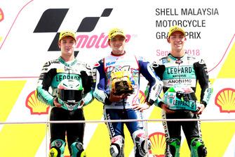 Lorenzo Dalla Porta, Leopard Racing, Jorge Martin, Del Conca Gresini Racing, Enea Bastianini, Leopard Racing