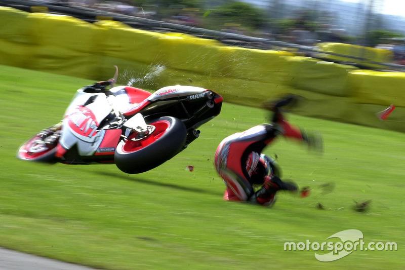 Daijiro Kato, Honda Gresini crash