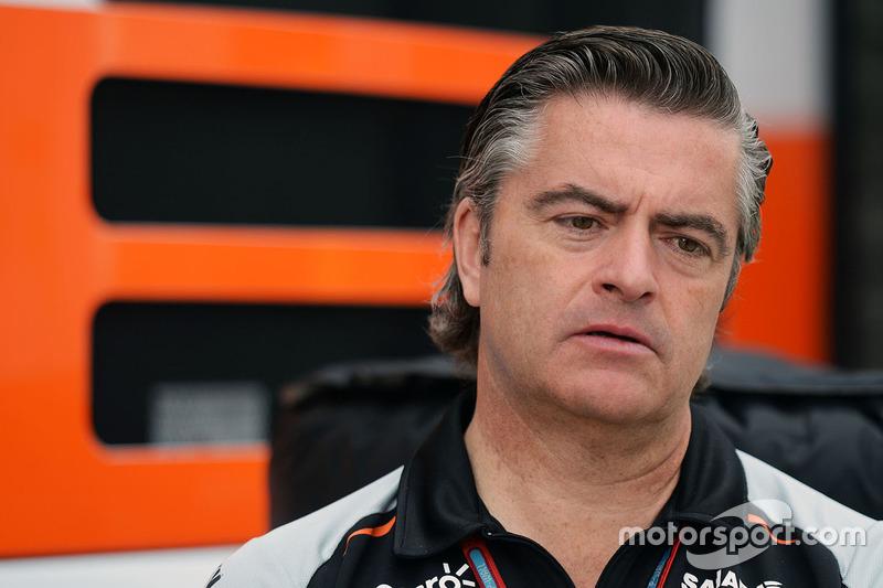 Andy Stevenson, Sahara Force India F1 Team Manager