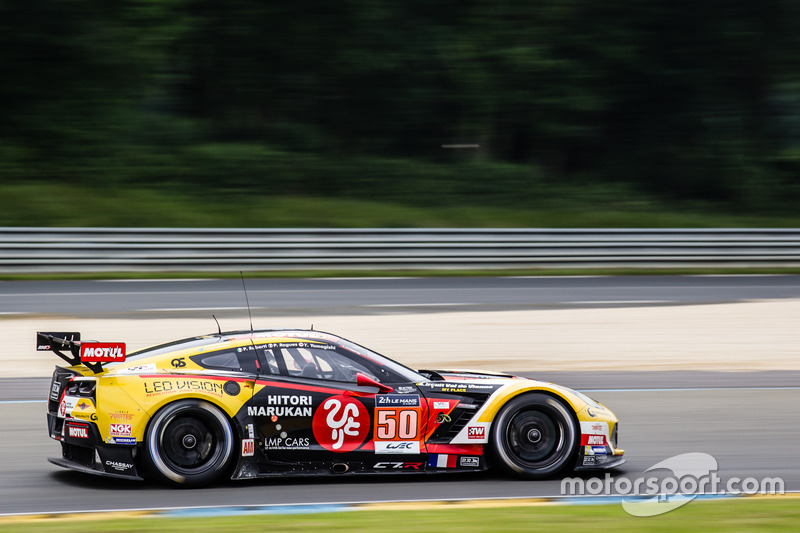 6. LMGTE-Am: #50 Larbre Competition, Chevrolet Corvette C7-R